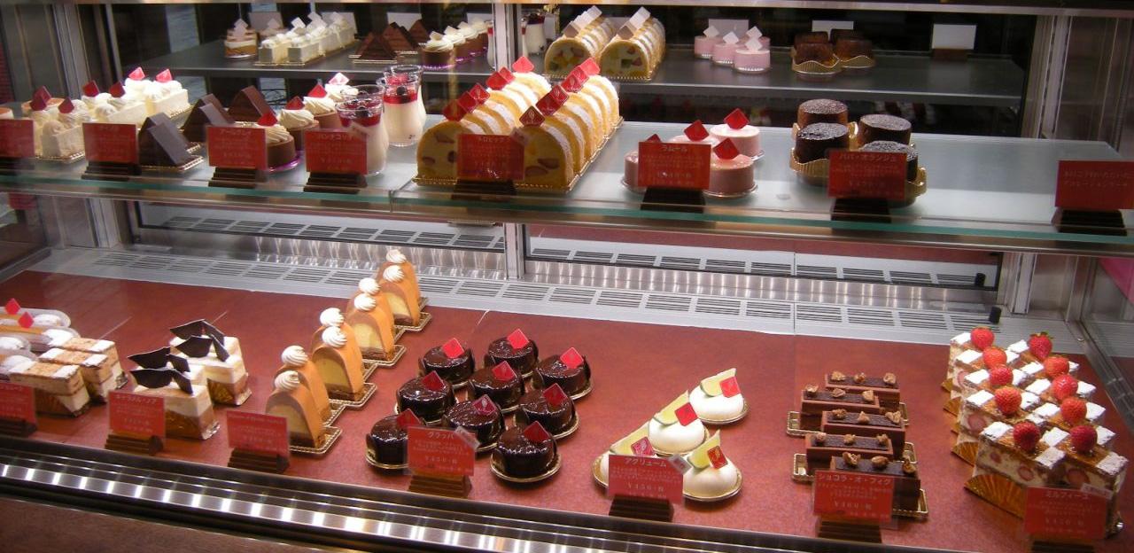 ボン・ヴィバンのケーキ