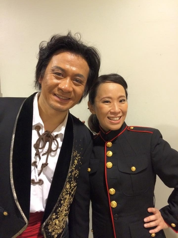 安藤常光さんと中川美和さん