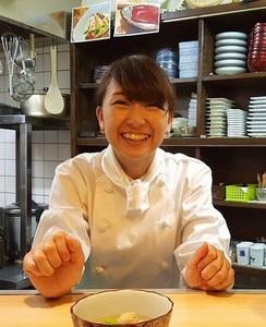 新羅彩乃(あやの)出張料理人