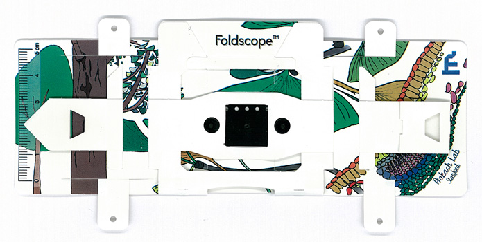 Foldscope(折り紙顕微鏡)