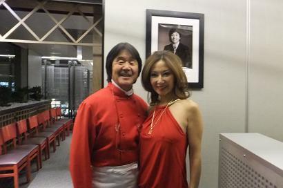 ムッシュ坂井と青木恵子