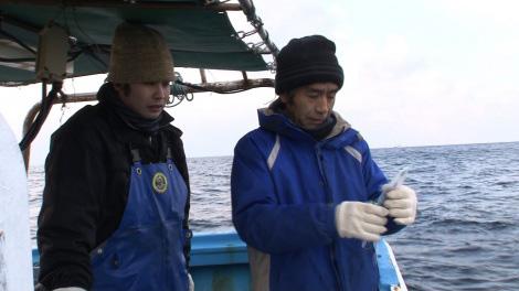 マグロ漁師の山本秀勝と山本剛史親子