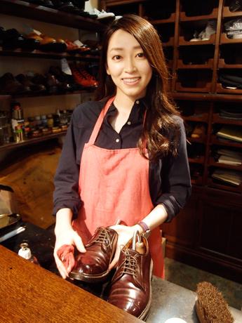 河村真菜(靴磨き職人)