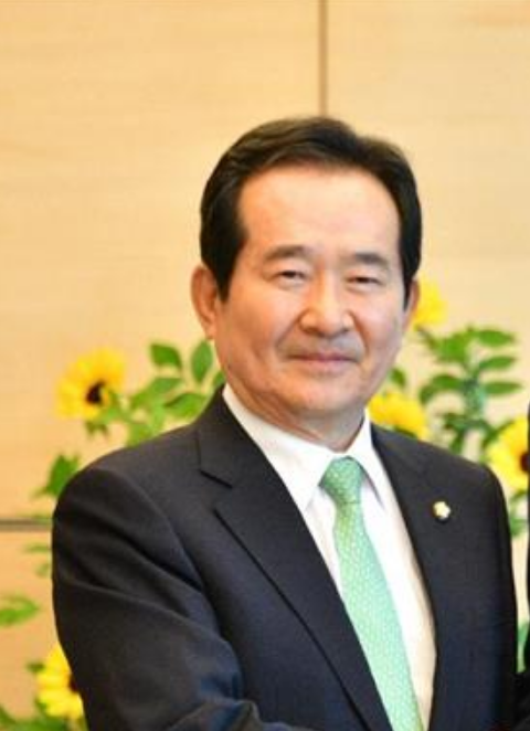 韓国議長チョンセギュン(丁世均)