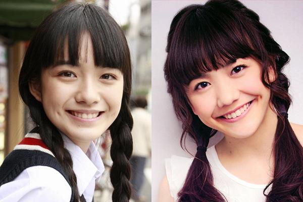 小島藤子と松井愛莉が似ている
